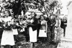 Padew, pogrzeb lata powojenne, 1954