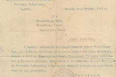 Przyznanie-odznaki-pamiątkowej-z-tyt.-zasług-na-rzecz-Pożyczki-Odrodzenia-Polski-z-1920-r.,-dok