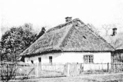 Dom-pierwszych-osadników-z-Padwi-Kolonia,-zdjęcie-z-roku-1940