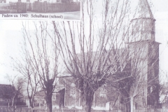 Kościół-i-szkoła-niemiecka-w-Padwi-Kolonia,-rok-1940