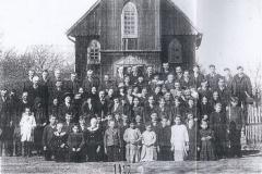 Niemiecka-parafia-protestancka,-Padew-1922-r