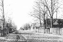 Padew-Kolonia,-dzisiejsza-ulica-Ludwiki-Uzar-Krysiakowej,-rok-1940