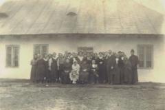 Padewska-plebania,-początek-XX-wieku,-ślub-Marii-Skopińskiej-i-Karola-Stojałowskiego