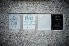 Ściana-kaplicy-cmentarnej-z-płytami-nagrobnymi-księży-800x