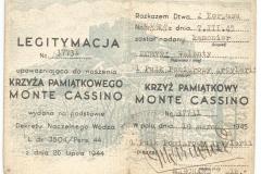 1_Krzyz-Pamiatkowy-Monte-Cassino-legitymacja