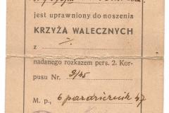 Krzyz-Walecznych-1920-legitymacja