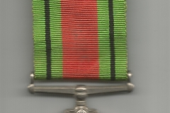 Medal Obrony (Defence Medal) awers