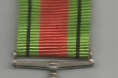 Medal Obrony (Defence Medal) rewers