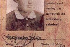 1a---Legitymacja-szkolna-Józefy-czaja,-uczennicy-Państwowego-Liceum-i-Gimnazjum-im.-St