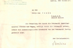 Zaświaczenie-1-wydane-przez-władze-niemieckie-dla-Jana-Czaja
