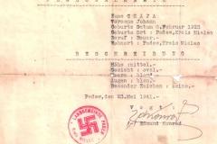 Zaświaczenie-2-wydane-przez-władze-niemieckie-dla-Jana-Czaja