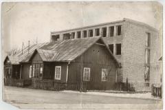 Budowa budynku urzędu gminy, 1976 r.